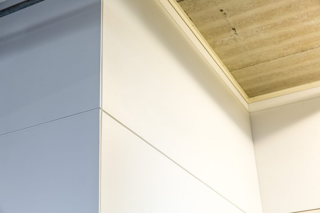 RAB® 刚性密封板 ExoTec®外墙立面 白色
