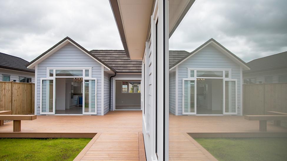Linea® Oblique护墙板 新西兰外墙板 白色